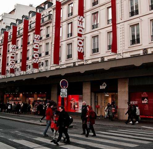 Enjoy the sales in the French capital of fashion