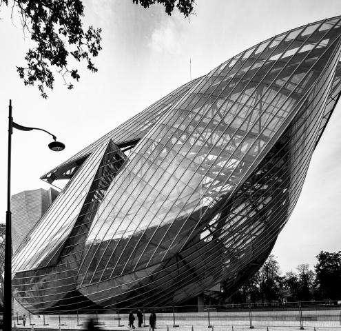 Un nouveau lieu de culture à Paris: la fondation Louis Vuitton