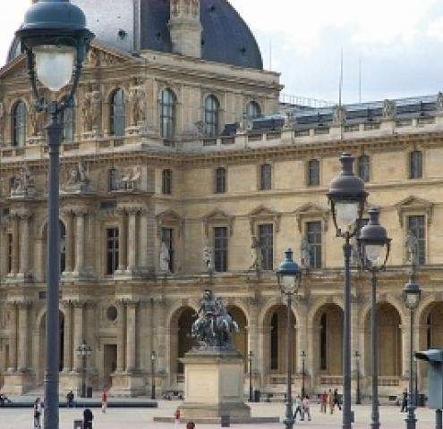 Louvre is an exciting and inspirational choice