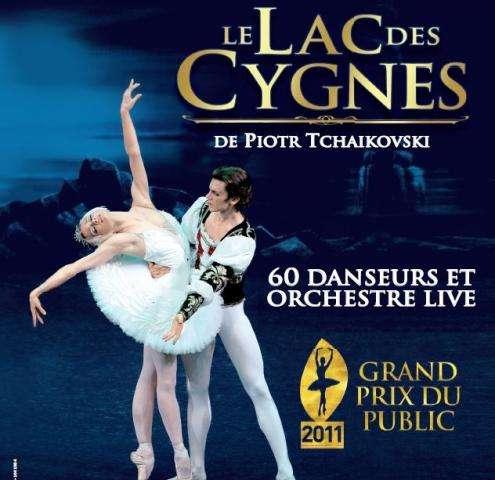 Le Lac des Cygnes à Paris en 2013 à l'Olympia